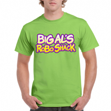 Big Als Robo Shack Ratchet and Clank Video Game Inspired T-Shirt